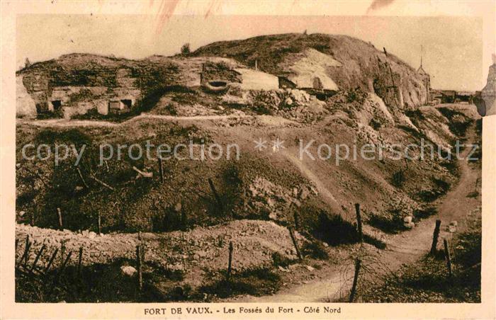 AK / Ansichtskarte Fort de Vaux Les Fosses du Fort  Kat. Verdun