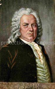 AK / Ansichtskarte Bach Johann Sebastian  Kat. Komponist