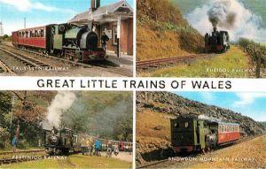 AK / Ansichtskarte Eisenbahn Trains of Wales Tal y LLyn Railway Rheidol Railway  Kat. Eisenbahn