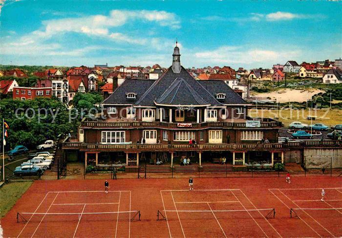 AK / Ansichtskarte Koksijde Casino Tennisplatz Kat.