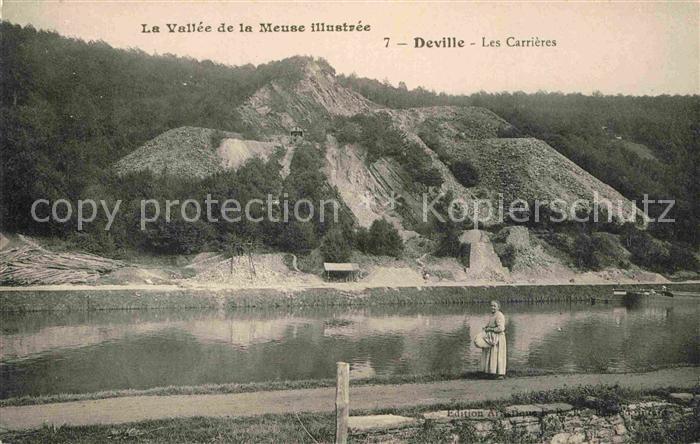AK / Ansichtskarte Deville les Rouen Les Carrieres Collection La Vallee de la Meuse illustree Kat. Deville les Rouen