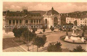 AK / Ansichtskarte Belfort Alsace Place de la Republique Palais de Justice Salle des Fetes Monument Kat. Belfort