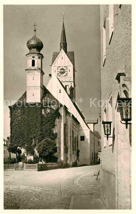 AK / Ansichtskarte Neustadt Donau Kirche Kat. Neustadt a.d.Donau