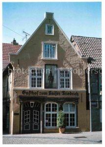 AK / Ansichtskarte Bremen Gasthof Zum Kaiser Friedrich Das Tor zum Schnoor Kat. Bremen