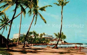 AK / Ansichtskarte Ceylon Sri Lanka Mount Lavinia Hotel and Beach