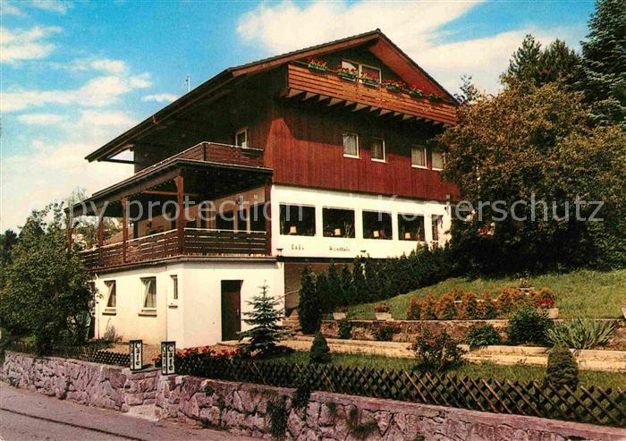 AK / Ansichtskarte Gernsbach Cafe Pension Schneider Kat. Gernsbach