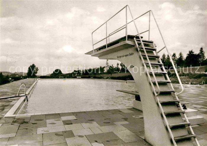 AK / Ansichtskarte Extertal Schwimmbad Kat. Extertal