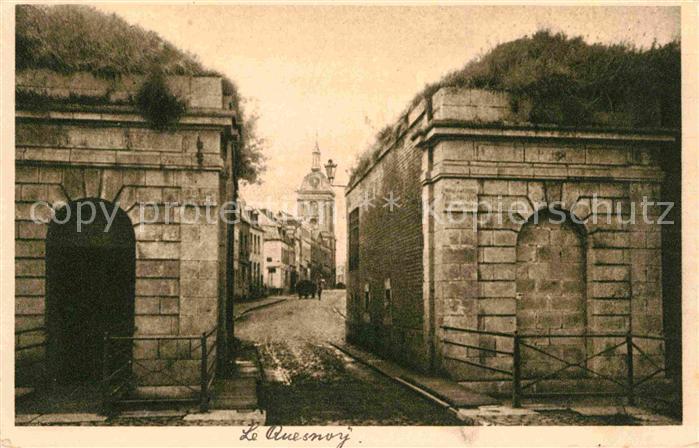 AK / Ansichtskarte Le Quesnoy Nord Une rue Kat. Le Quesnoy