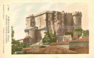 AK / Ansichtskarte Suze la Rousse Chateau Cote de la Plaine 5e Serie Histoire Kat. Suze la Rousse