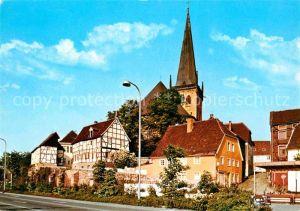 AK / Ansichtskarte Unna Alt Unna mit evangelischer Kirche Kat. Unna