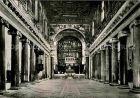 AK / Ansichtskarte Roma Rom Basilica di Santa Maria in Trastevere interno Kat.