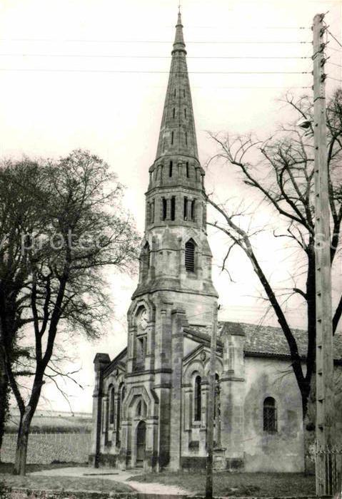 AK / Ansichtskarte Sauternes Eglise Kirche Kat. Sauternes