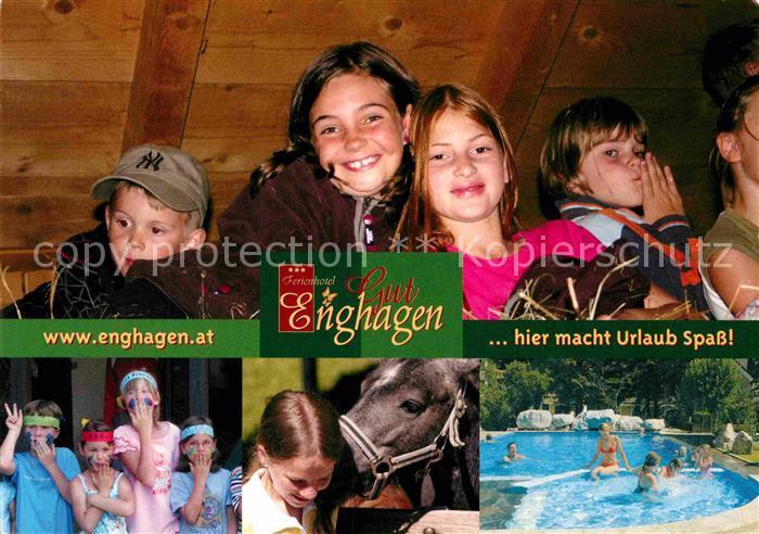 AK / Ansichtskarte Rossleithen Ferienhotel Gut Enghagen Swimmingpool Kat. Rossleithen