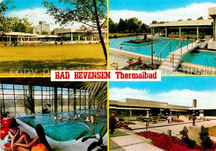 AK / Ansichtskarte Bad Bevensen Thermalbad Hallenbad Details Kat. Bad Bevensen