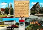 AK / Ansichtskarte Goeppingen Oberhofenkirche Storchen Schloss Burg Hohenstaufen Rekonstruktion Kat. Goeppingen