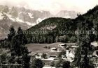 AK / Ansichtskarte Oberau Berchtesgaden mit Untersberg Kat. Berchtesgaden