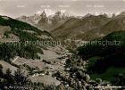 AK / Ansichtskarte Ramsau Berchtesgaden Tal mit Alpenstrasse Kat. Ramsau b.Berchtesgaden