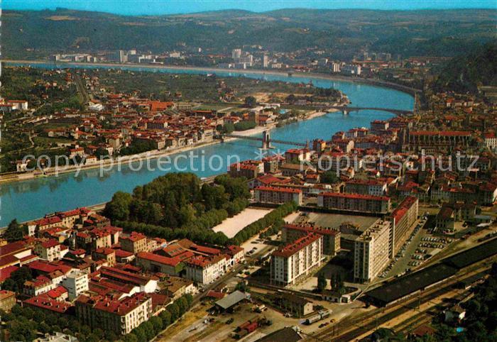 AK / Ansichtskarte Vienne sur le Rhone La ville et la Valle du Rhone Sainte Colombe Kat. Vienne Isere