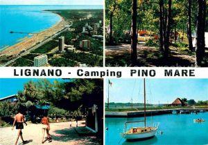 AK / Ansichtskarte Lignano Campingplatz Pino Mare Kat. Lignano