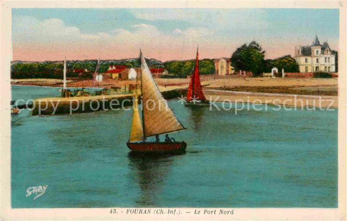 AK / Ansichtskarte Fouras Charente Maritime Le Port Nord Bateau Kat. Fouras