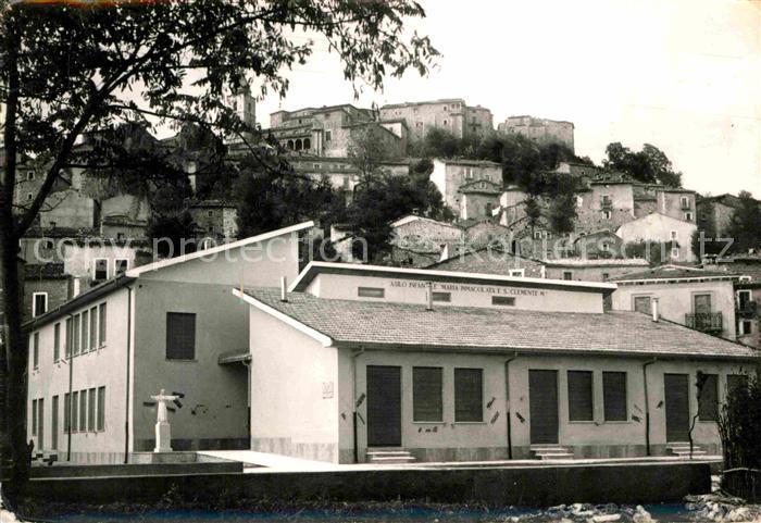 AK / Ansichtskarte Montenero Val Cocchiara Isernia Paesaggio e Astlo Infantile Kat. Isernia
