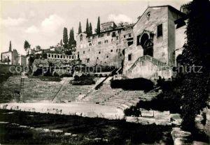 AK / Ansichtskarte Verona Veneto Teatro Romano Kat. Verona