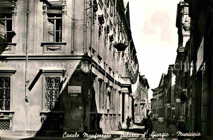AK / Ansichtskarte Monferrato Piemont Casale Palazzo S. Giorgio Municipio Kat. Monferrato