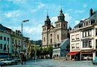 AK / Ansichtskarte Malmedy Wallonie Albertplatz mit Kathedrale Kat. Verviers