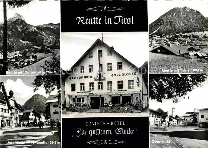 AK / Ansichtskarte Reutte Tirol Gasthof Hotel Zur goldenen Glocke Kat. Reutte