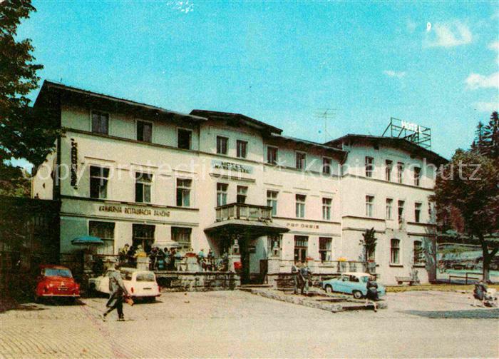 AK / Ansichtskarte Szklarska Poreba Schreiberhau Hotel Karkonoze