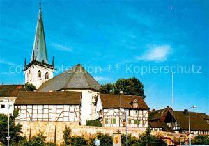 AK / Ansichtskarte Unna Alt Unna evangelische Kirche  Kat. Unna