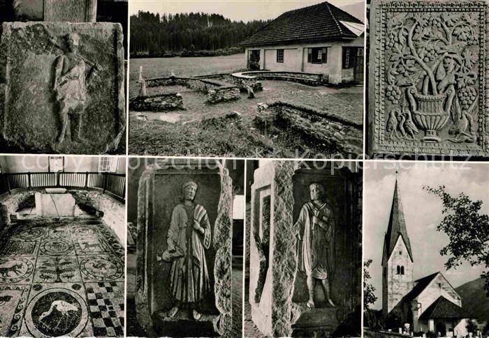AK / Ansichtskarte St Peter Au Ausgrabungen von Teurnia Kat. St. Peter in der Au