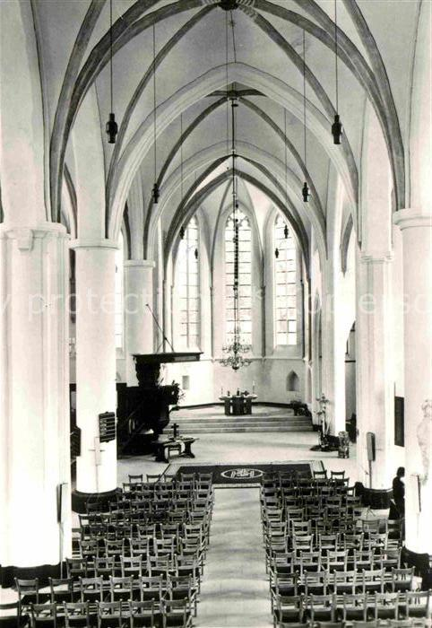 AK / Ansichtskarte Lochem Gudulakerk innen Kat. Lochem