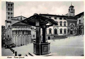 AK / Ansichtskarte Arezzo Piazza Grande Kat. Arezzo