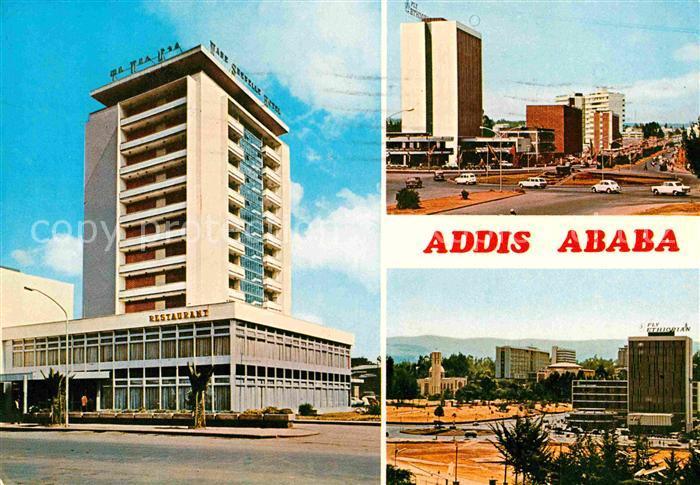 AK / Ansichtskarte Addis Ababa Restaurant Stadtansicht Kat. Addis Ababa