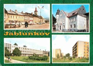 AK / Ansichtskarte Jablunkov Jablunkau Stadtansichten Kat. Tschechische Republik