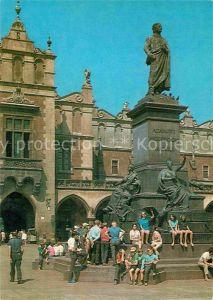 AK / Ansichtskarte Krakow Malopolskie Pomnik Adama Michiewicza Kat. Krakow