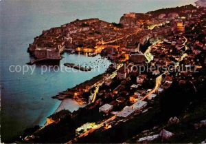 AK / Ansichtskarte Dubrovnik Ragusa Hafen Panorama Kat. Dubrovnik