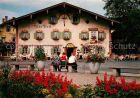 AK / Ansichtskarte Oberammergau Hotel Alte Post Kat. Oberammergau