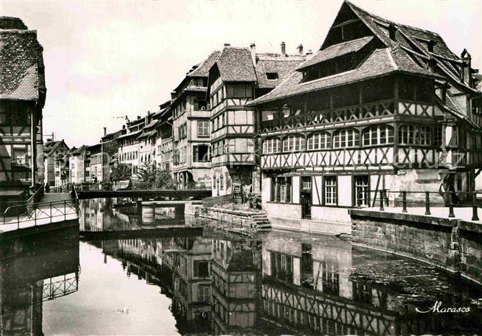 AK / Ansichtskarte Strasbourg Alsace Le Bain aux plantes  Kat. Strasbourg