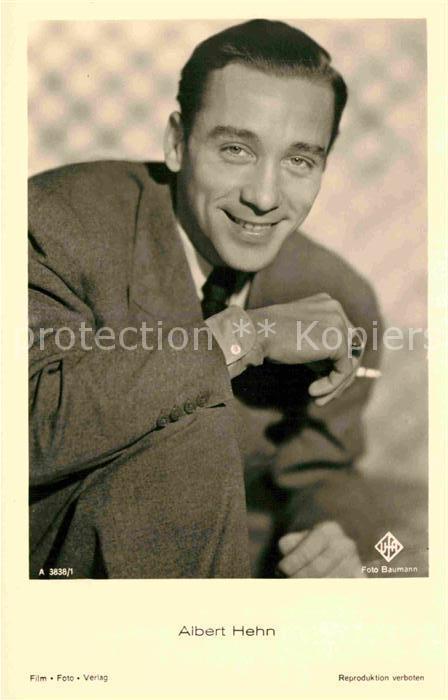 AK / Ansichtskarte Schauspieler Albert Hehn  Kat. Kino und Film