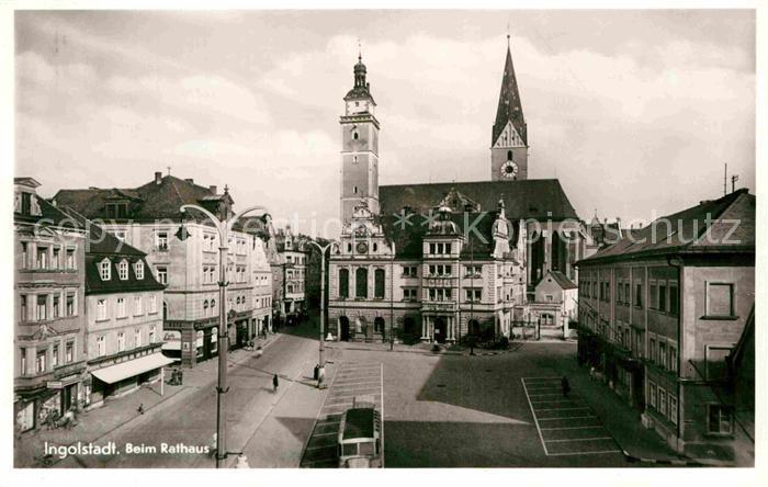 AK / Ansichtskarte Ingolstadt Donau Rathaus Kat. Ingolstadt