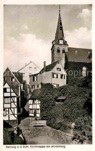 AK / Ansichtskarte Kettwig Ruhr Kirchtreppe Alt Kettwig