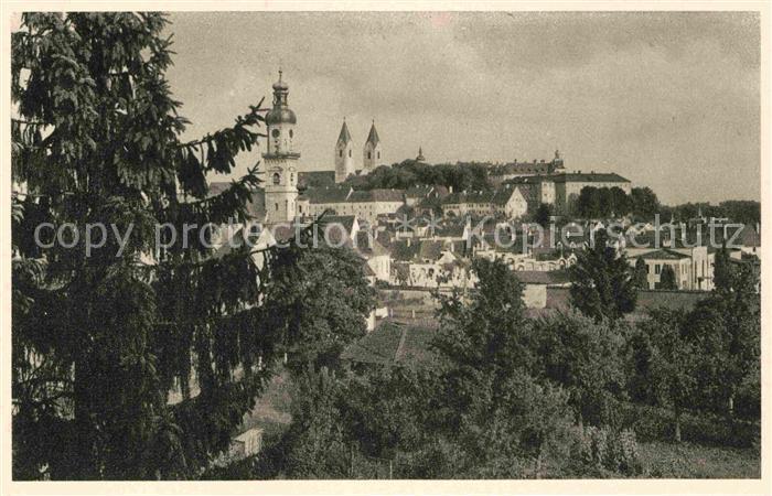 AK / Ansichtskarte Freising Oberbayern Panorama  Kat. Freising