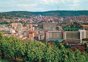 AK / Ansichtskarte Stuttgart Blick ueber die Stadt Kat. Stuttgart