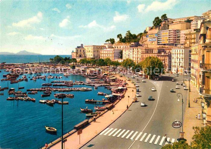 AK / Ansichtskarte Napoli Neapel Mergellina via Caracciola Kat. Napoli