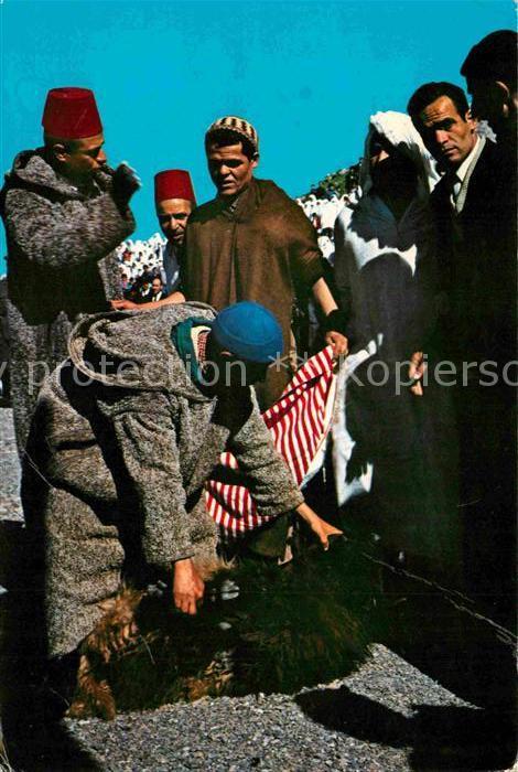 AK / Ansichtskarte Xauen Pascua Aid el Quebir Kat. Marokko