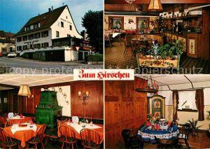 AK / Ansichtskarte Kirchzarten Gasthaus zum Hirschen Kat. Kirchzarten