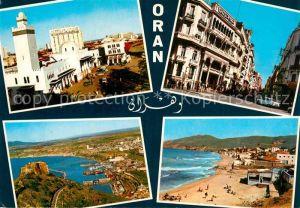 AK / Ansichtskarte Oran Algerie La Gare Boulevard Zirout Youcef Les Plages Bousseville Kat. Oran