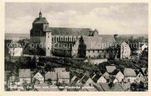 AK / Ansichtskarte Havelberg Dom vom Turm der Pfarrkirche gesehen Kat. Havelberg